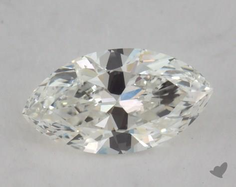 0.51 Carat H-SI2 Marquise Cut Diamond