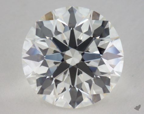3.03 Carat H-IF Excellent Cut Round Diamond