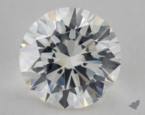 2.50 Carat H-VS2 Excellent Cut Round Diamond