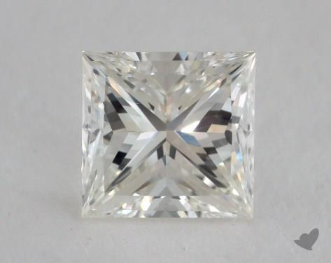 1.53 Carat H-VS1 Ideal Cut Princess Diamond