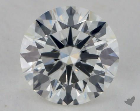 1.32 Carat H-SI2 Excellent Cut Round Diamond