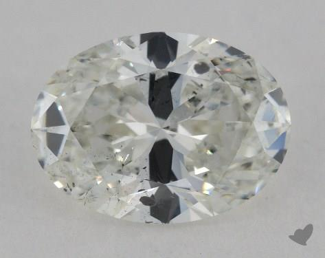 2.04 Carat H-SI2 Oval Cut Diamond