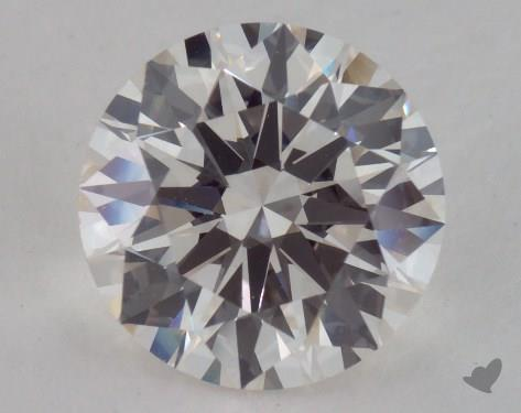 2.51 Carat H-VS1 Excellent Cut Round Diamond
