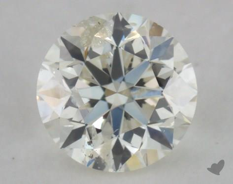 0.70 Carat K-I1 Good Cut Round Diamond