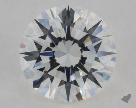 2.50 Carat H-VVS2 Excellent Cut Round Diamond