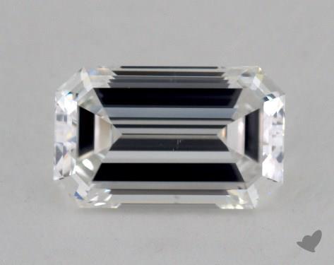 1.09 Carat E-VS2 Emerald Cut Diamond