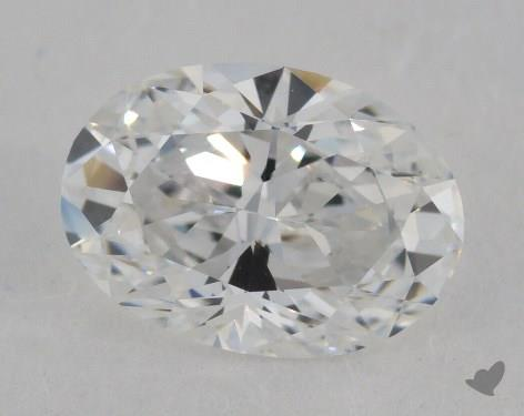 1.12 Carat D-VS1 Oval Cut Diamond