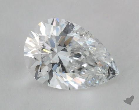 1.20 Carat D-I1 Pear Shape Diamond