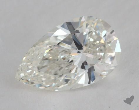 2.16 Carat H-SI1 Pear Shape Diamond