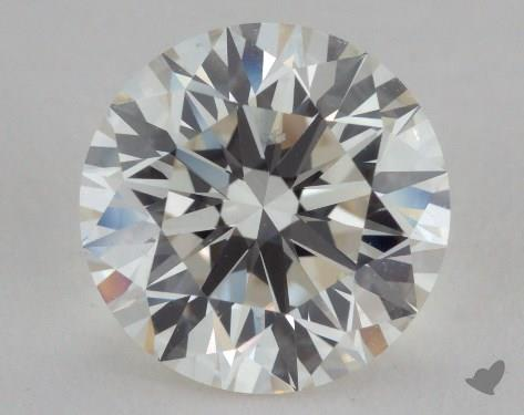 2.60 Carat J-VVS2 Very Good Cut Round Diamond