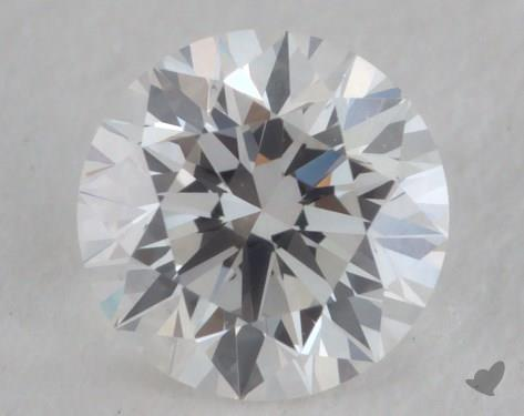 0.31 Carat F-SI1 Very Good Cut Round Diamond