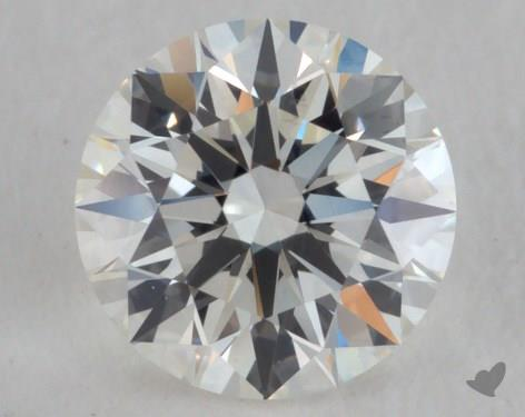 0.52 Carat H-VS2 Excellent Cut Round Diamond