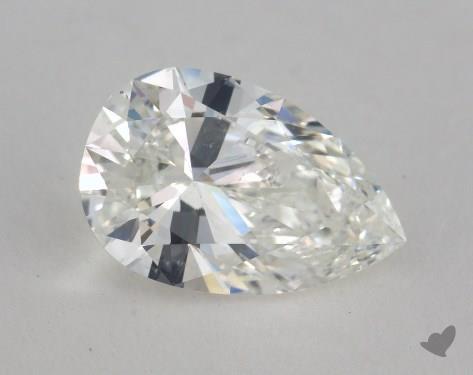 1.51 Carat H-SI1 Pear Shape Diamond