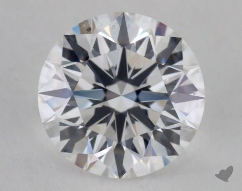 2.05 Carat E-SI1 Excellent Cut Round Diamond