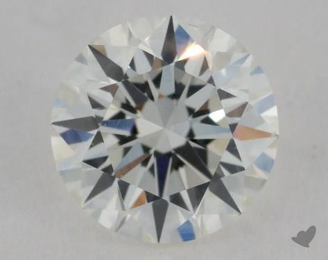 0.92 Carat H-VS2 Excellent Cut Round Diamond