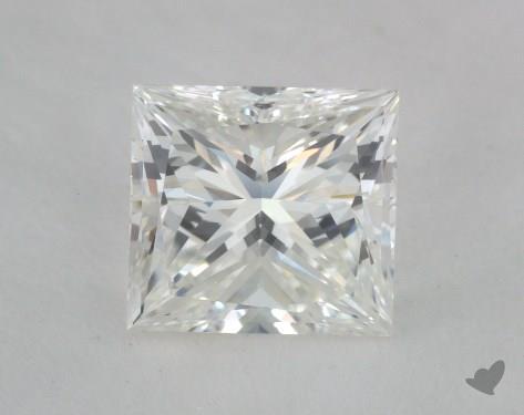 1.35 Carat H-VS1 Ideal Cut Princess Diamond