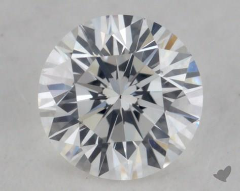 0.32 Carat D-VS2 Very Good Cut Round Diamond