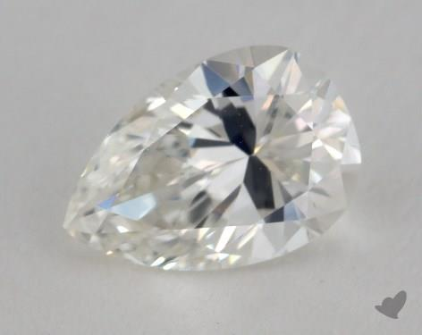 0.80 Carat H-VS2 Pear Shaped  Diamond