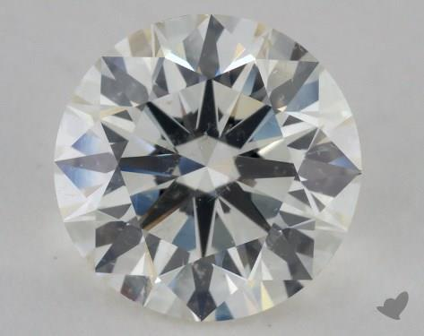2.60 Carat J-SI2 Excellent Cut Round Diamond