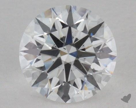 1.21 Carat E-SI1 Excellent Cut Round Diamond