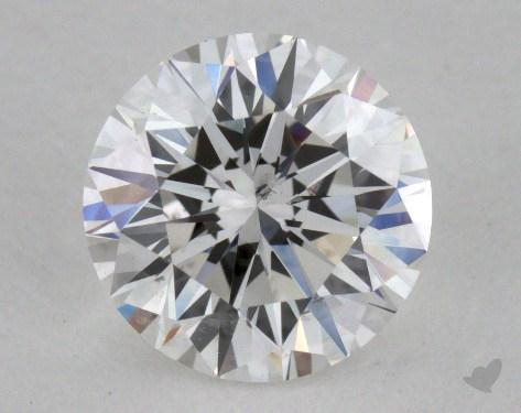 0.92 Carat E-SI1 Excellent Cut Round Diamond