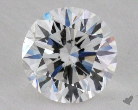 0.90 Carat E-SI1 Good Cut Round Diamond