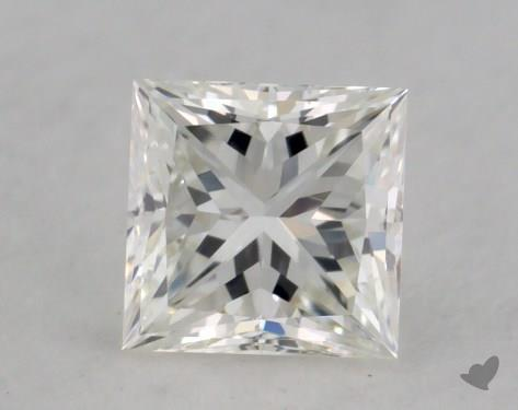 0.45 Carat H-VS2 Ideal Cut Princess Diamond