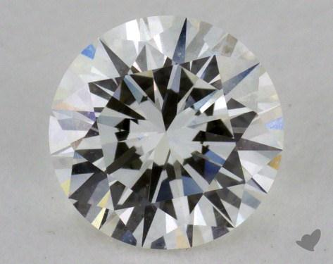1.07 Carat H-VS1 Excellent Cut Round Diamond