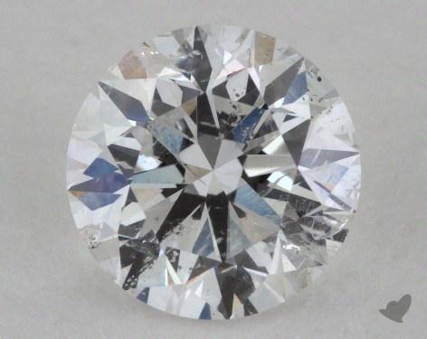 1.04 Carat E-I1 Very Good Cut Round Diamond