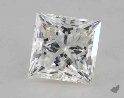 0.80 Carat I-VVS1 Ideal Cut Princess Diamond