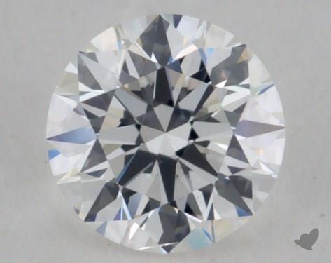 0.34 Carat E-SI1 Excellent Cut Round Diamond