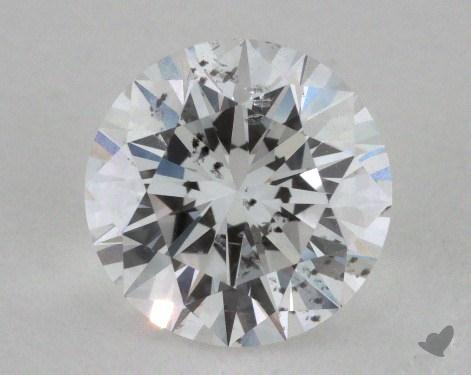 1.03 Carat E-SI2 Excellent Cut Round Diamond