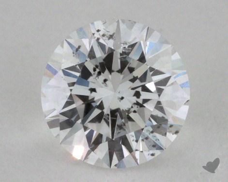 1.03 Carat E-SI2 Excellent Cut Round Diamond