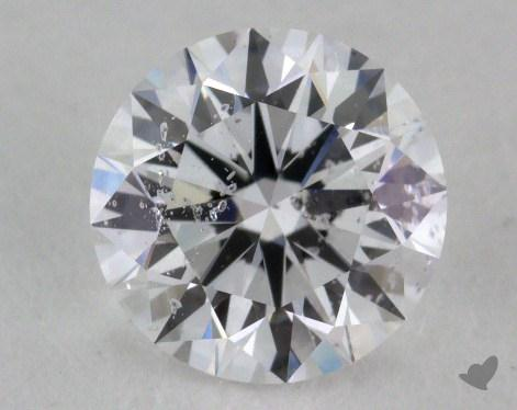 1.02 Carat D-I1 Excellent Cut Round Diamond