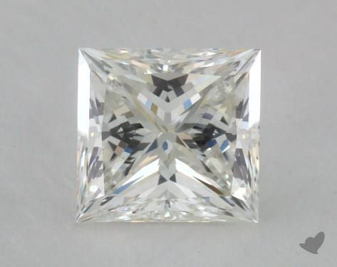 1.53 Carat I-VS1 Ideal Cut Princess Diamond