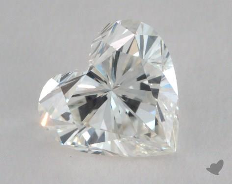1.00 Carat H-VS2 Heart Shaped  Diamond
