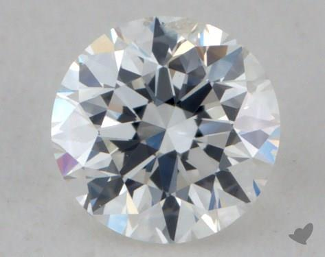 0.30 Carat F-SI2 Very Good Cut Round Diamond