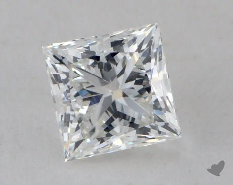1.02 Carat G-VS2 Ideal Cut Princess Diamond