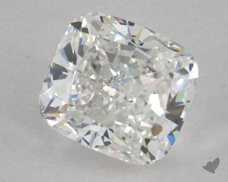 1.21 Carat G-VVS1 Cushion Cut Diamond