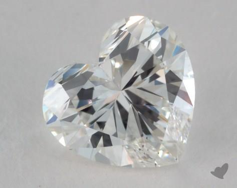 1.17 Carat H-VS2 Heart Shape Diamond