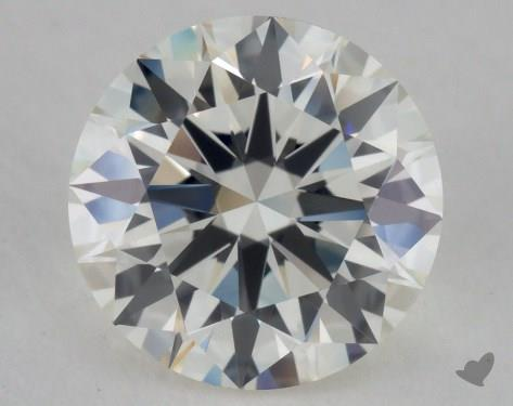 1.36 Carat J-IF Excellent Cut Round Diamond