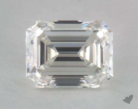 0.93 Carat H-VS2 Emerald Cut Diamond