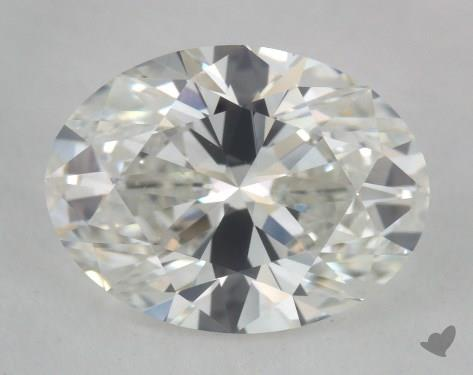 1.50 Carat G-VS1 Oval Cut Diamond