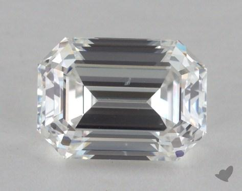 1.79 Carat E-SI1 Emerald Cut Diamond