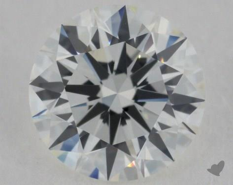 1.00 Carat H-VVS1 Excellent Cut Round Diamond