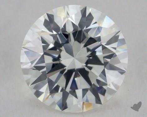 1.00 Carat H-VS1 Excellent Cut Round Diamond