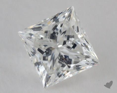 0.98 Carat F-VVS1 Ideal Cut Princess Diamond