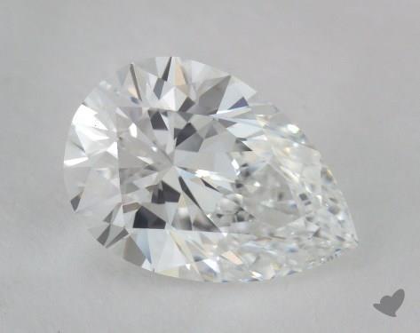 1.02 Carat E-VS1 Pear Shape Diamond