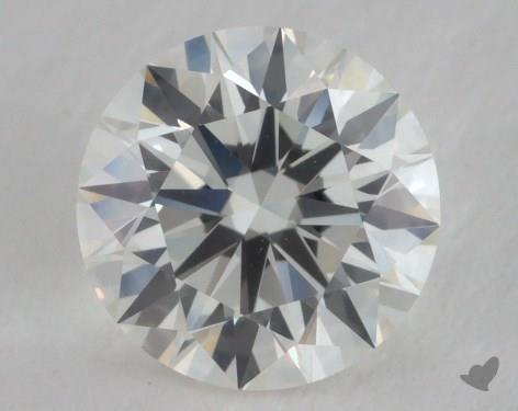 1.02 Carat I-VVS2 Excellent Cut Round Diamond