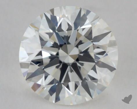 1.01 Carat H-VVS1 Excellent Cut Round Diamond